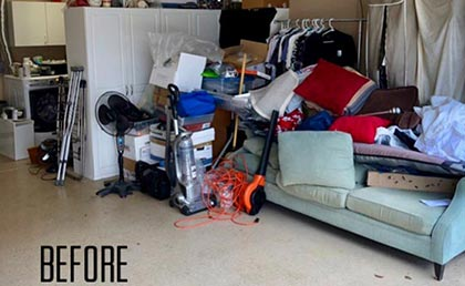 garage : before & afters